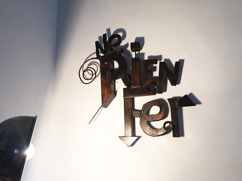 art sculpture mots sebastien guandalini