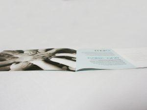 reflexion graphique woundcare brochure pansement