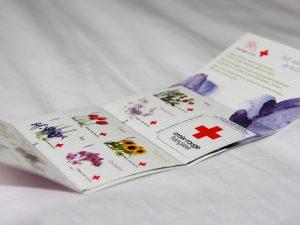 l'amour en 10 fleurs . 1er prix carnet de timbres 2014